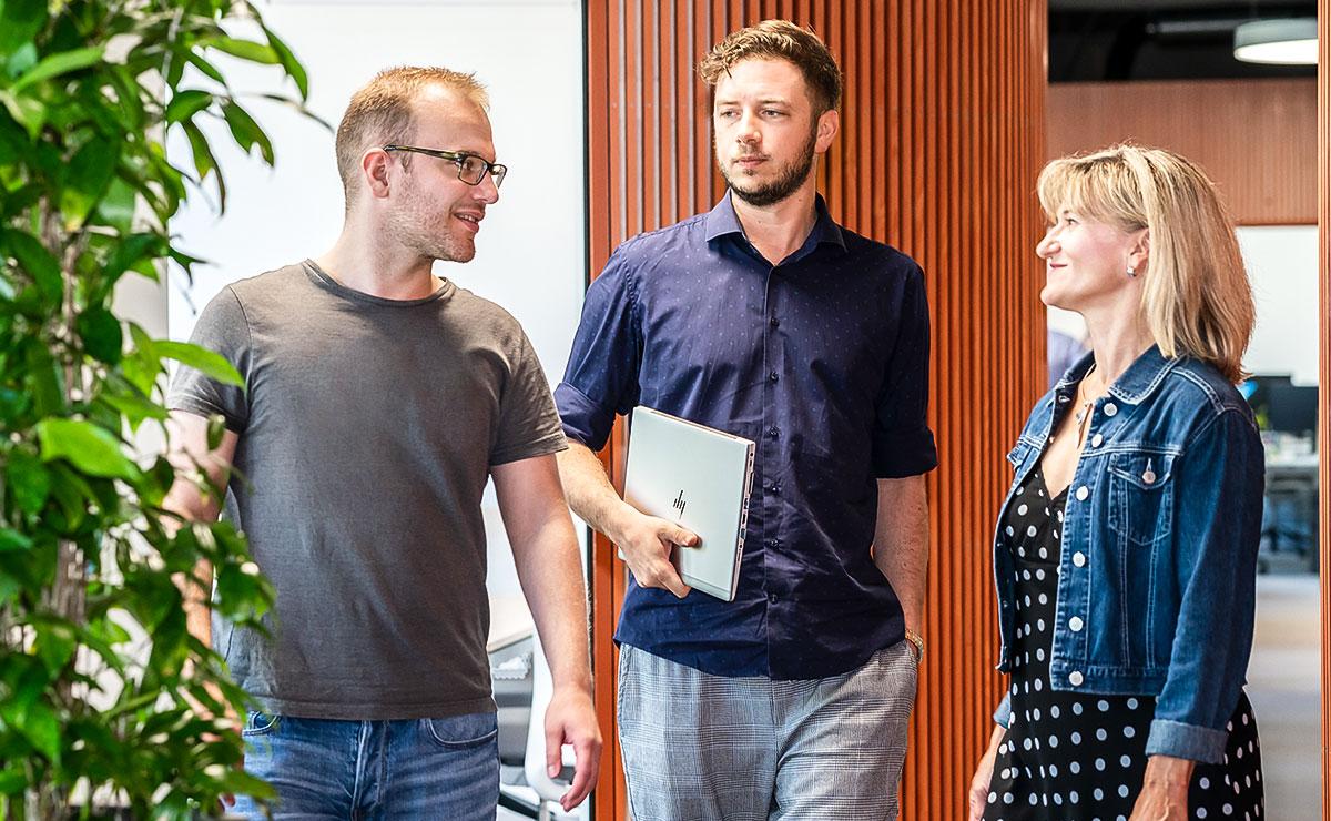 ESPRIT Netzwerk AG Team-Diskussion